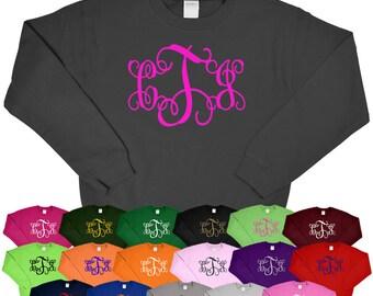 Monogram Sweatshirt - Tees2urdoor