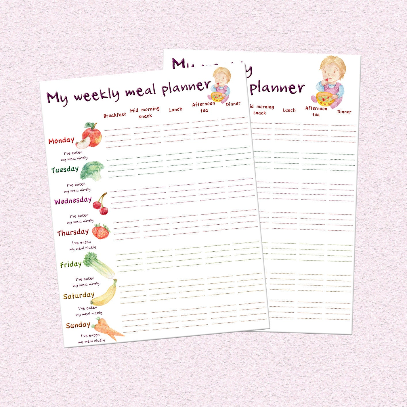 interactive schedule planner