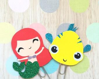 Paperclip Ariel Little Mermaid
