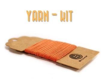 Yarn kit - DIY Jewelry - Crochet yarn - Crochet jewelry supplies - jewelry supplies - crochet thread - Mudeno