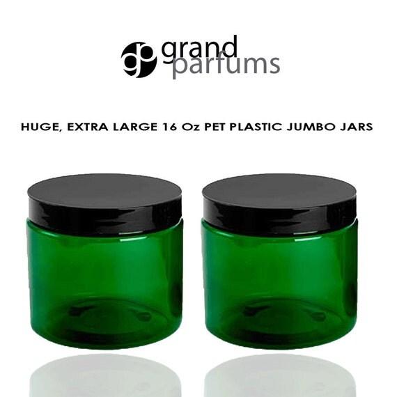 3 Premium Purple Xtra Large Jumbo 16 Oz Jars Hand Cream