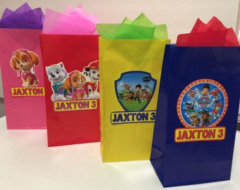 Paw Patrol Party bags! (12)