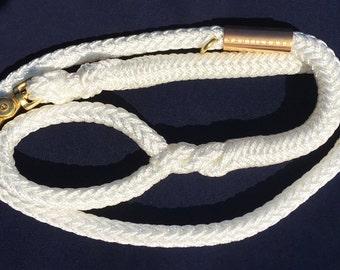 Dog Leash - Nautileash™ - White - Leash
