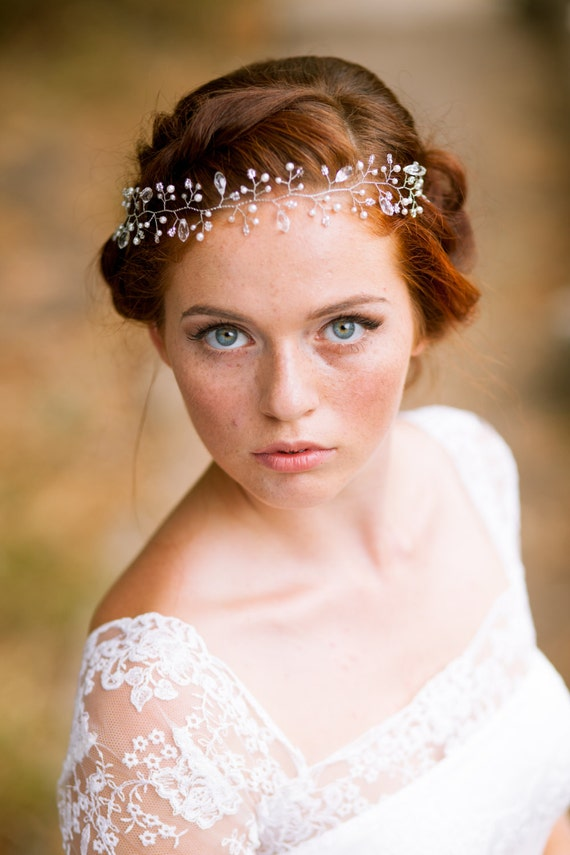 Beautiful Bohemian Bridal Hair Accessories
