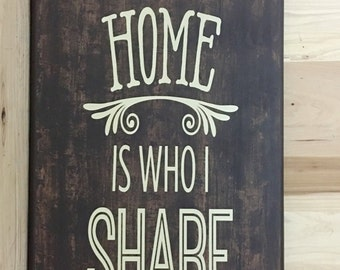 Family sign, what I love most wood sign, uplifting wall sign, birthday gift, rustic home decor, gift for her, housewarming gift