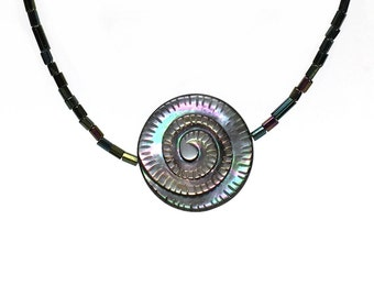 Carved Spiral Shell