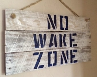 Items similar to instant download no wake zone for Home decor zone glasgow