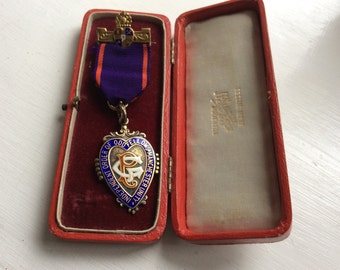 Reduced This Solid Silver Masonic Jewel 1903/11 Oddfellows