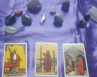 Same Day Psychic Reading, Tarot Card Reading, Three Card Tarot Reading, Past, Present, Future Tarot Reading,