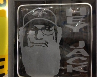 SI robertson etched glass block