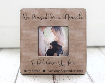 Pregnancy Ultrasound  Picture Frame Gift for Wife Daughter Mother Grandmother Pregnancy Announcement First Mother's Day