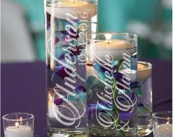 Set of 3 Floating Candle Holders - Wedding Centerpiece - Candle Centerpiece - Wedding Decor - Candle Holder - Weddings