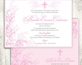 Pink Whimsical Baptism Ch...