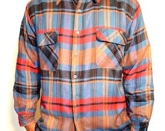 Mens Vintage plaid jacket/ Mens vintage Jacket/ Mens jacket