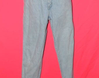 Vintage Levi Jeans/ levi Jeans/ light wash denim/ Levi Denim Size 11
