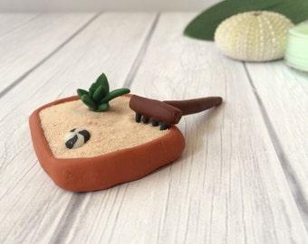 Miniature Zen Garden Kit