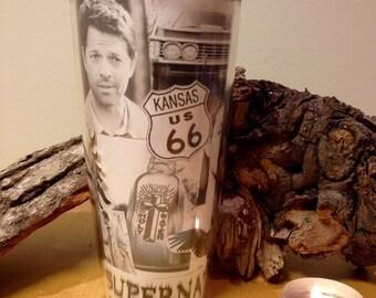SUPERNATURAL THEMED travel coffee mug