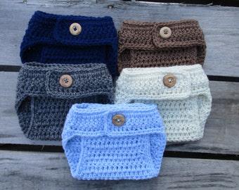 Crochet Diaper Cover Newborn Diaper Cover Baby Boy Diaper Cover Baby Girl Diaper Cover Baby Crochet Newborn Photo Prop Knit Diaper Cover