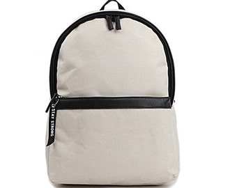 Special Middle Stripe Backpack (Beige)