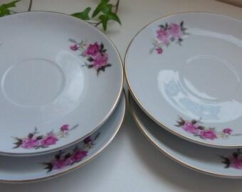 Regent Fine China tea saucer plates
