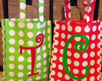 Monogrammed Reuseable Shopping Bag Tote
