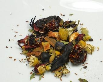 Very Berry Elderberry Vanilla  Herbal Tea