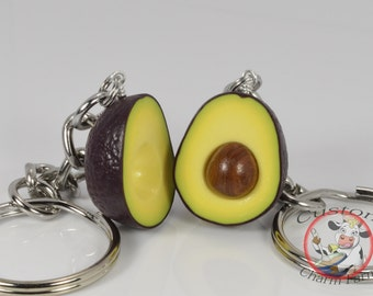 Avocado Keychain for Best Friends -  HASS avocado variety