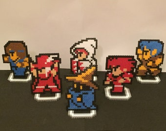 Final Fantasy Perler Bead Sprites