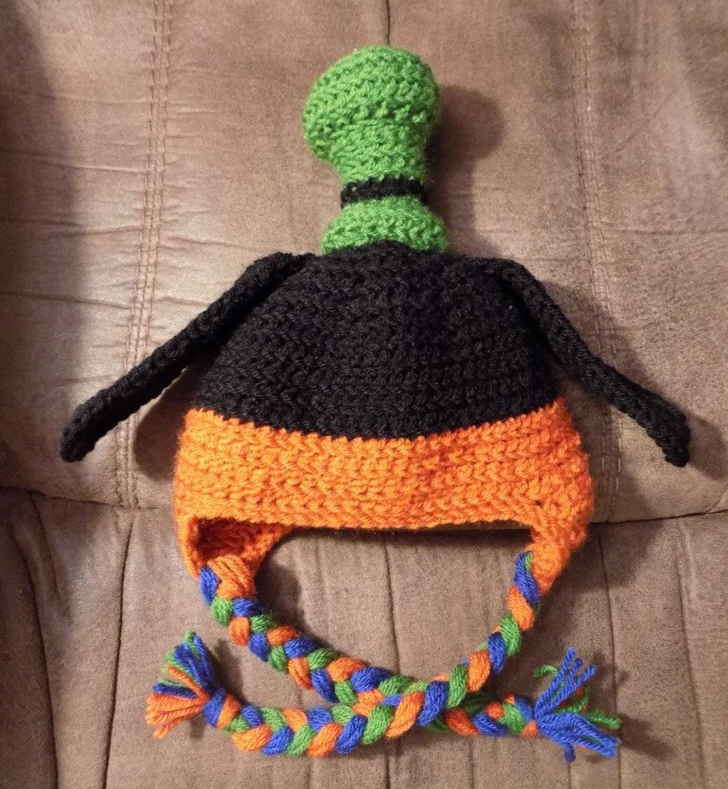 Free Crochet Ivy Leaf Pattern Dancox For Chevron Diagram Mantas Pinterest Goofy Hat