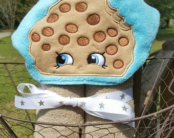 Cookie Hooded Towel with FREE Embroidered Name