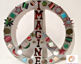 IMAGINE Peace sign