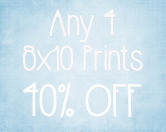 8x10 Prints - Choose any 4 ColorPopPhotoShop Fine Art Photographs