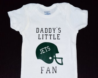 Daddy's Little Football Fan Onesie