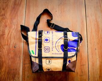 Shoulder bag, Messenger bag, waterproof paper