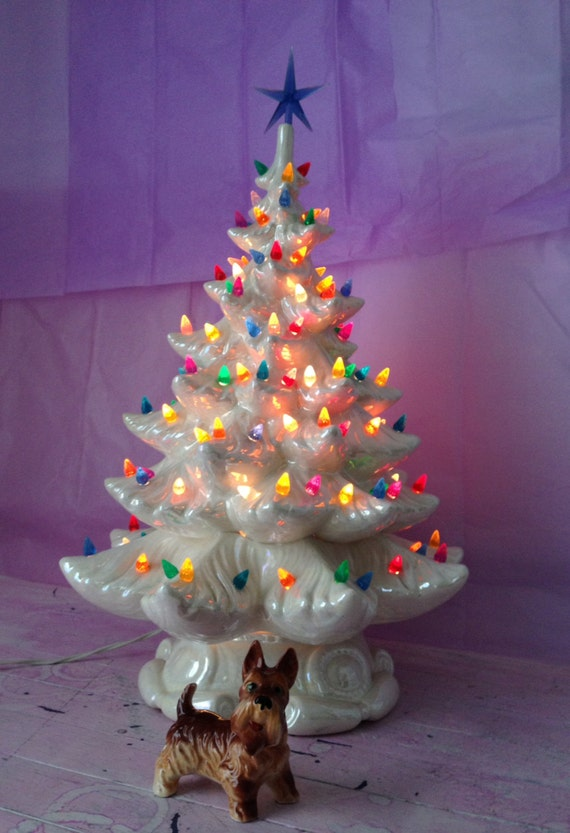 Small Light Up Christmas Tree