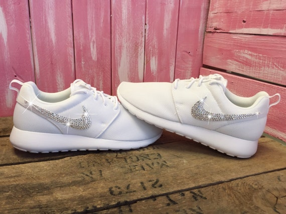 low-cost Blinged Girls  Womens Nike Roshe Shoes Customized by ShopPinkIvy b3e0d3caf642