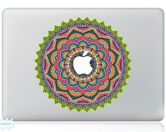 New Colorful Leaves Decal Mac Stickers Macbook Decals Macbook Stickers Apple Decal Mac Decal Stickers Laptop Decal 08