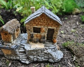 Fairy House with Tool Shed