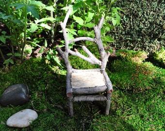 Tall Wooden Chair