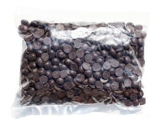 53% Plain Chocolate Drops - Dairy Free, Vegan, Egg Free, Nut Free. Cooking Chocolate.