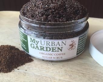 Sugar Scrub - Organic Sugar Scrub - Coffee Sugar Scrub - Coffee Mocha Sugar Scrub - Coffee Body Scrub - Organic Body Scrub