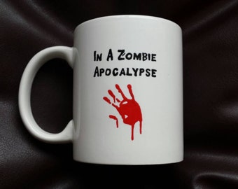 Valentines day mug inspired by the undead