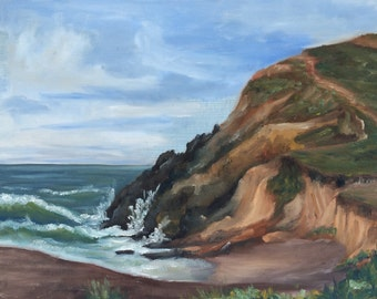 Rodeo Beach Cliff