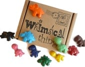 Dinosaur Crayons - Dinosaur Party - Dinosaur Gift Boxed Crayons - Kids Craft - Colouring Activities - The Good Dinosaur - Kids Birthday Gift