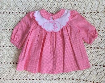 Pink Polly Flinders Cat Dress 6 Months