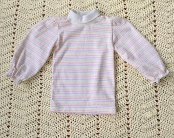 Pastel Rainbow Healthtex Long Sleeve Shirt 24 Months