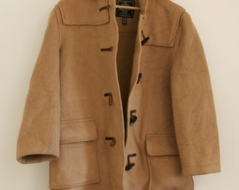 vtg 60s Gloverall Duffle Coat L Large UK 16 US 12 M L Medium Large