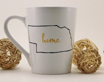 Customizable Home State Mug