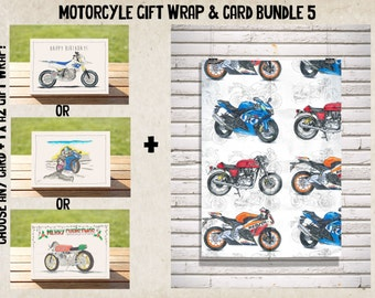 Bold White Sportsbike Wrap + Gift Card Bundle No. 5 | Sportsbikes A2 Premium Satin Finish Wrap + ANY CARD!