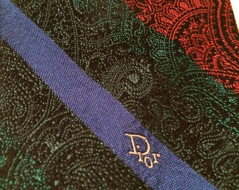 Christian Dior, vintage tie